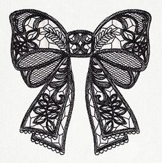 Put a Bow on It | Urban Threads: Unique and Awesome Embroidery Designs (5x7)
