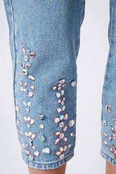 embellished jeans - Google Search
