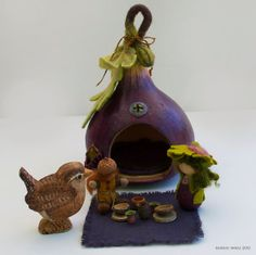 Little Fig Lady finds a Home by willodel on Etsy, $92.00