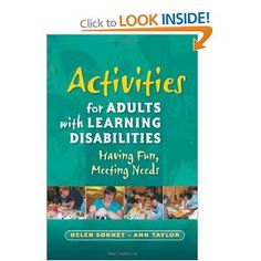 activity adult developmentally disabled idea interesting