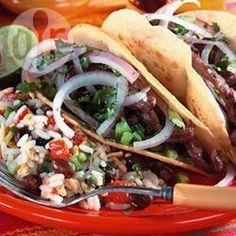 Recipe photo: Oaxaca Steak Tacos