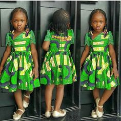 Ankara Xclusive: Modern Ankara Styles for kids 2018 That Will Blow Your Mind Ankara Styles For Kids, African Dresses For Kids, Ankara Gown Styles, African Children, Latest African Fashion Dresses, African Print Dresses, Ankara Dress, African Print Fashion, African Women