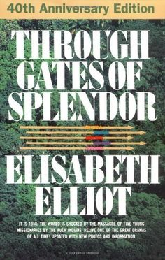 Through Gates of Splendor by Elisabeth Elliot, http://www.amazon.com/dp/B007V699S0/ref=cm_sw_r_pi_dp_b6sEsb07Q4NK1