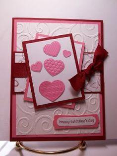 Heart Swirl Background and Teeny Tiny Wishes