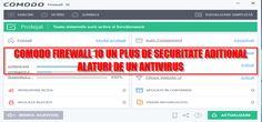 Comodo Firewall 10 un plus de securitate adițional alături de antivirus