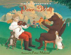 Sergei Prokofiev's Peter and the Wolf by Sergei Prokofiev, http://www.amazon.com/dp/B004G8P3P4/ref=cm_sw_r_pi_dp_SboNtb0TCSZ9N