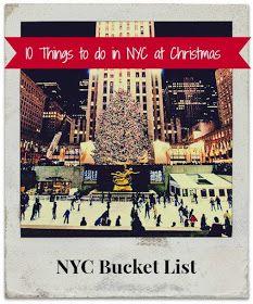 Suburban Wife, City Life: NYC Christmas Bucket List