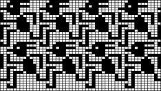 Machine Knitting patterns by Gudrun Benedicte Fog