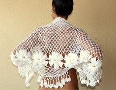 How to crochet flower on Clip