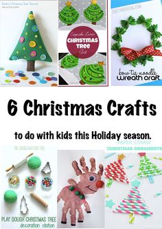 6 Christmas Crafts to do with kids this holiday season