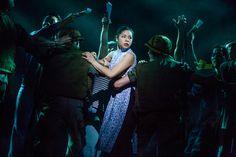 Eva Noblezada as Kim in Miss Saigon Broadway Nyc, Broadway Theatre, Musical Theatre, Broadway Shows, Great Comet Of 1812, The Great Comet, Miss Saigon Musical, Manhattan Times Square, Lower Manhattan