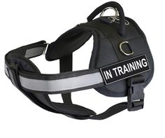 Fully Chest Padded Dog Harness with Velcro Patches Certified Service Dog | eBay