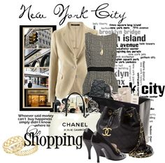 """""""NYC Shopping Trip"""" by stylesbyjoey on Polyvore"""