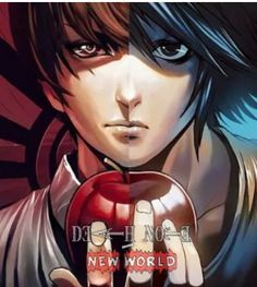 Awesome Death Note poster - Light and L