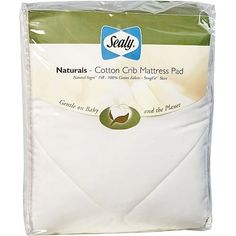 Sealy Naturals - Cotton Crib Mattress Pad, Diapers.com  #DiaperscomNursery