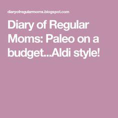 Diary of Regular Mom