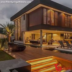 Most Popular Modern Dream House Exterior Design Ideas 19 - kindledecor Modern Minimalist House, Modern House Design, Home Design, Modern Contemporary House, Design Art, Minimalistic Kitchen, Modern Exterior House Designs, Design Homes, Design Logo