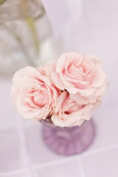 style me pretty - real wedding - usa - california - solvang wedding - lincourt vineyards - reception decor - table decor - centerpiece - tea roses