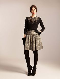 ALICE by Temperley, Autumn Winter '13, Ritz Jumper and Venice Skirt
