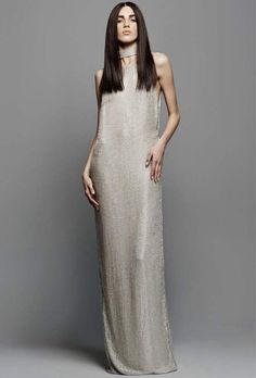 Tom Ford Embellished Silk Gown