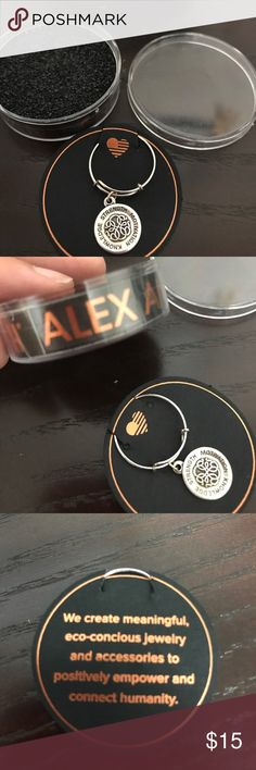 ALEX AND ANI BRACELET Perfect for a gift! Unopened and ready to wear !Strength, motivation and knowledge ! Alex and Ani Jewelry Bracelets