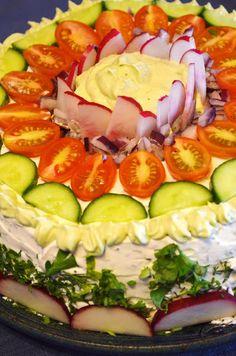 Gormandize: Vegan Smörgåstårta (Swedish Sandwich Cake)