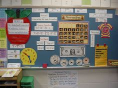 One board devoted to math! What a great interactive resource in the classroom!