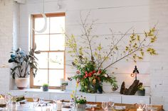 Flora and Fauna Supper/ Photo by City Love Photography