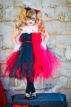 Harley Quinn Tutu Dress by Atutudes