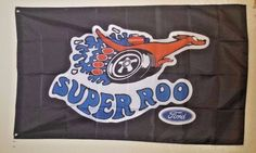 Ford Super Roo Flag Man Cave Garage 3X5 ft Falcon Banner FREE SHIPPING #SuperRoo
