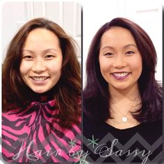 Hair & Makeup for the mommy makeover on this gorgeous mama xo  Done by me at Sassy Shears