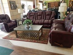 Charming TOP GRAIN LEATHER La Z Boy #582LH827707 At Kemper Furniture In Hazard,