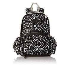 Cool black and white aztec backpack styles for school and everyday. Tribal  aztec pattern that is funky and stylish. Other great sites  Aztec backpacks a64654e89acbd