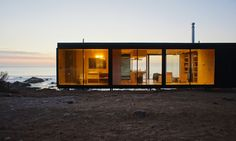 Remote House is a sustainable modular home that can be anchored anywhere in the world | Inhabitat - Green Design, Innovation, Architecture, Green Building