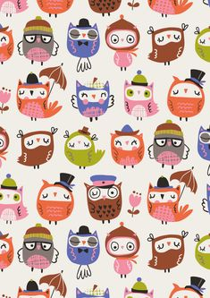 owl pattern designed by Inga Wilmink for Jo-Ann Stores | via http://www.ingawilmink.com/news/2015/11/6/even-more-designs-at-jo-ann-stores