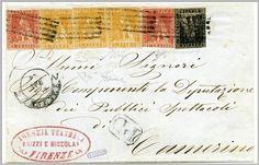 1859, 13 aprile. Da Firenze a Camerino