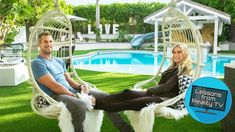 """If you loved the first season of """"Christina on the Coast"""" with Christina Anstead and were sad to see it end, we've got good news: a bonus episode! Swimming Holes, Kids Swimming, Covered Outdoor Kitchens, Iridescent Tile, Flip Or Flop, Pool Sizes, Pool Chemicals, Outdoor Retreat, Backyard Paradise"""