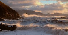 Wind and waves on Kinard beach   Flickr - Photo Sharing!