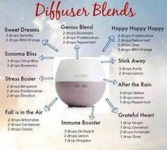 Diffuser blends to purchase your own diffuser and oils