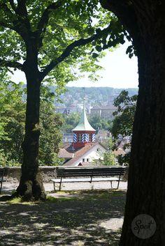 Lindenhof overlooking the old town #zurichspots