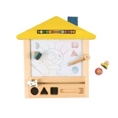 wooden doodle board and extra goodies