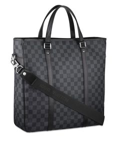 Louis Vuitton Damier Graphite Tadao - my  Accountant has one and now I want it.