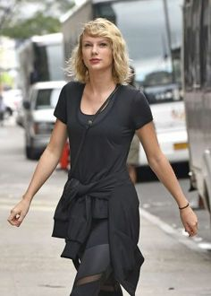 Taylor Swift at the Gym in NYC 2016-09-07