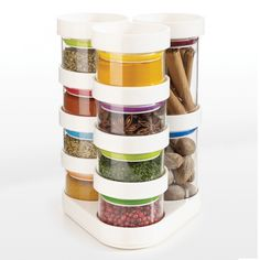 Joseph Joseph SpiceStore™ Carousel - Pretty spice rack. I particularly like the jars.
