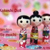 Baby Kokeshi Doll - via @Craftsy