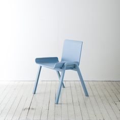 Economical Chair is a minimalist design created by South Korea-based designer Seungji Mun. The Economical Chair is designed to minimize industrial waste. (9)