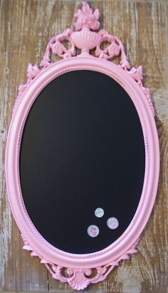 chalk board! such a cute idea for the house