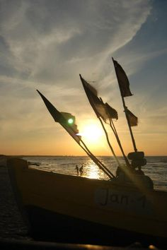 Fisherman boat. Baltic sea - Jantar.