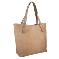 Taupe Alexa Tote - Soft Viper by GigiNYC