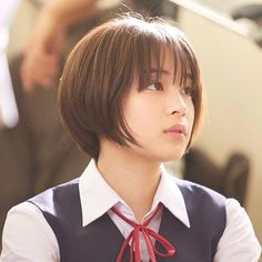 Pin on すず Pin on すず Japanese Beauty, Asian Beauty, Short Hair Cuts, Short Hair Styles, Queen Hair, My Hairstyle, Asian Hair, Japan Girl, Pixie Hairstyles